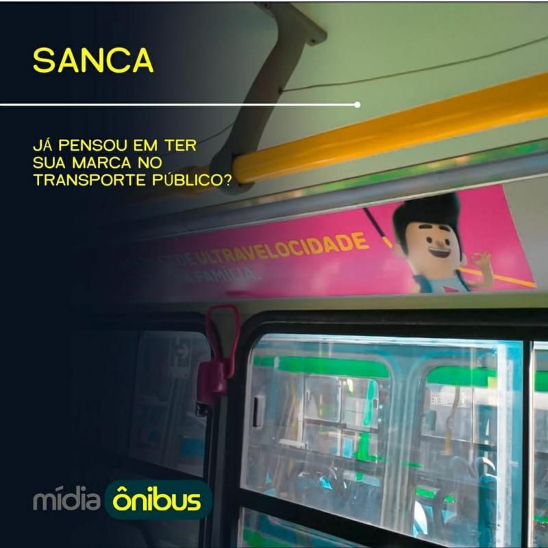 Ja pensou em ter sua marca no transporte publico ?