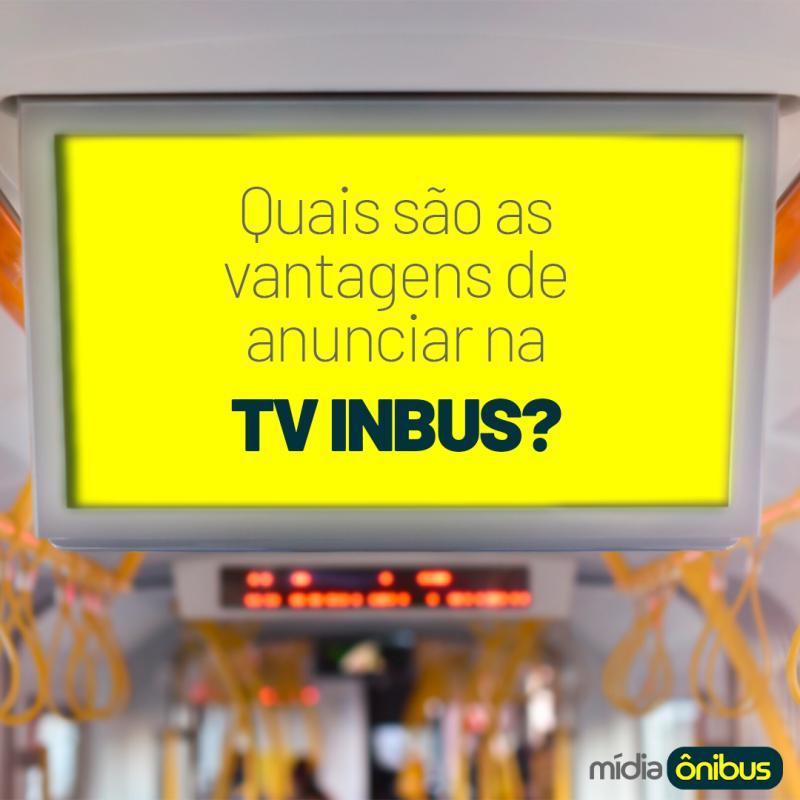 Quais são as vantagens de anunciar na TV Inbus?
